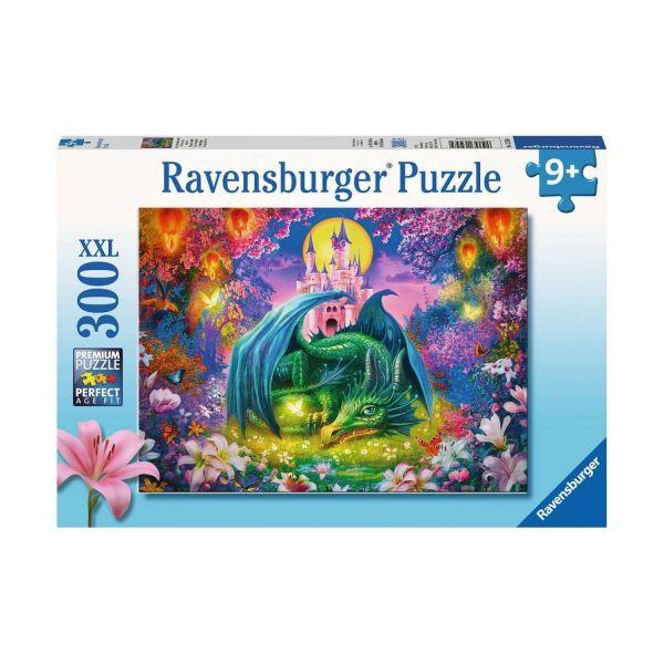 RAVENSBURGER 13258 - Puzzle - Mystischer Drachenwald, 300 Teile XXL