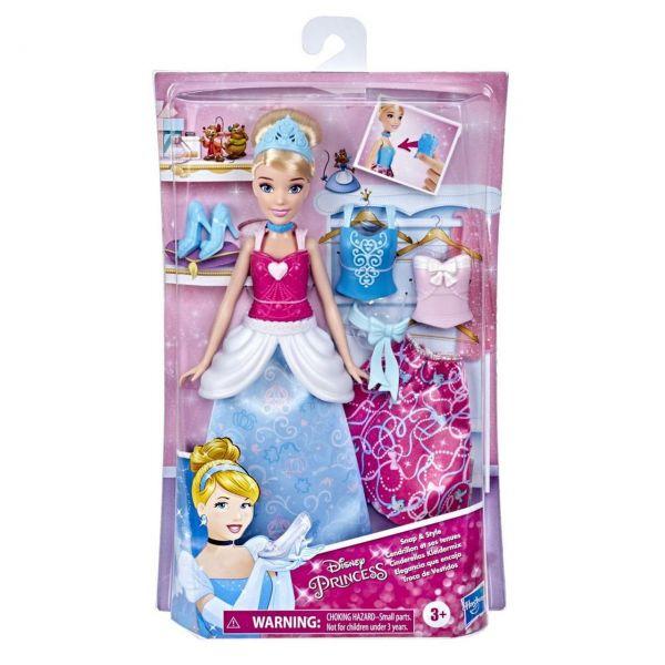 HASBRO E9591 - Disney Princess - Cinderellas Kleidermix Puppe