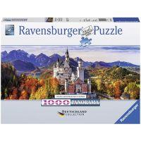 RAVENSBURGER 15161 - Puzzle - Schloss Neuschwanstein in Bayern, 1000 Teile