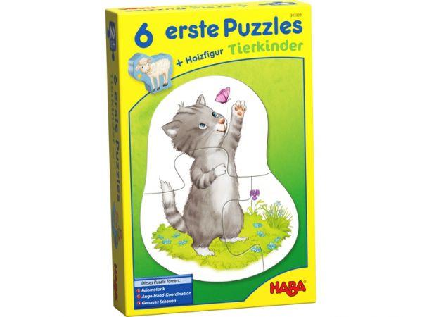Haba 303309 - 6 erste Puzzles – Tierkinder