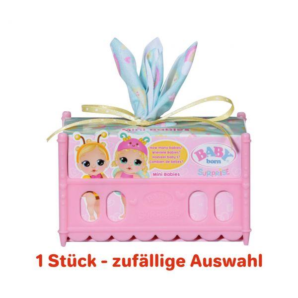ZAPF 904664 - BABY born® Surprise - Mini Babies (Garten), 1 Stk., zufällige Auswahl