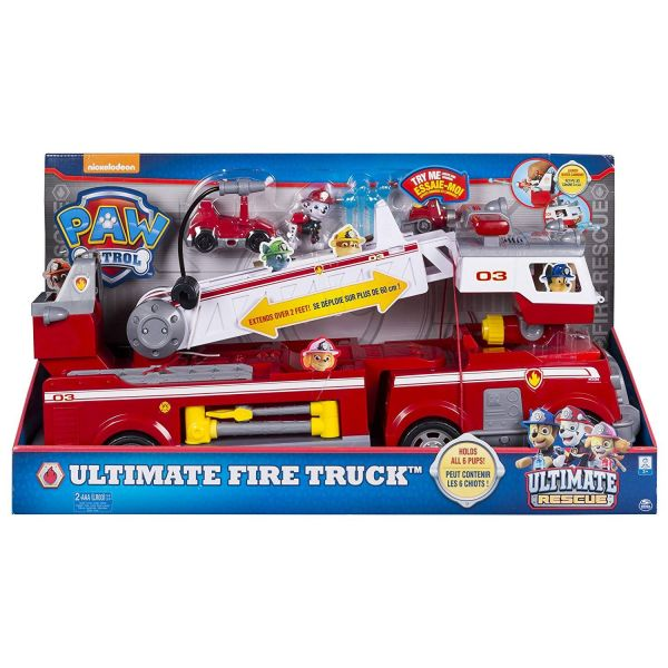 Spin Master 20100693 - Paw Patrol - Ultimate Rescue Feuerwehrauto