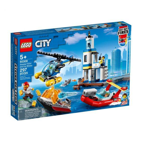 LEGO 60308 - City - Polizei und Feuerwehr im Küsteneinsatz