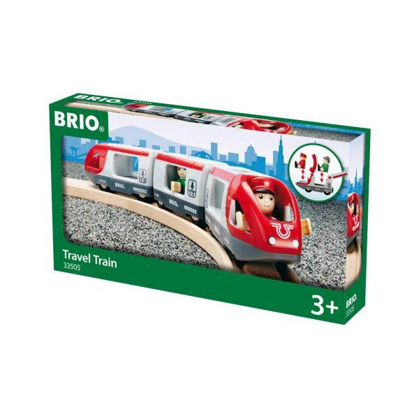 BRIO 33505 - Bahn - Roter Reisezug
