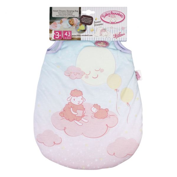 Zapf Creation 703182 - Baby Annabell® - Sweet Dreams Schlafsack
