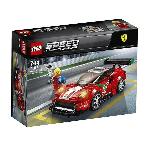 """LEGO 75886 - Speed Champions - Ferrari 488 GT3 """"Scuderia Corsa"""""""