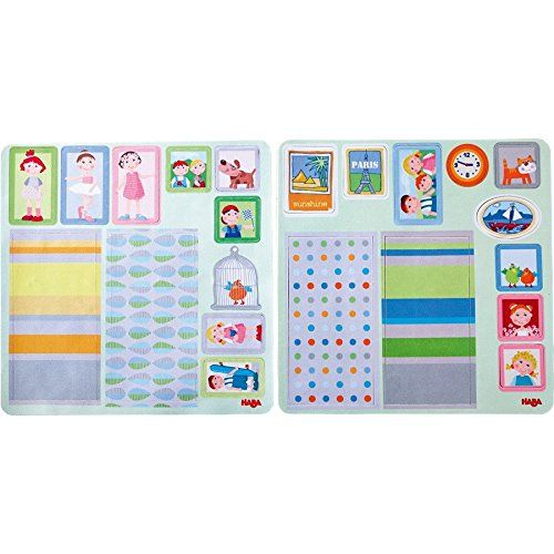 HABA 301962 - Little Friends - Puppenhaus Klebe-Deko-Accessoires