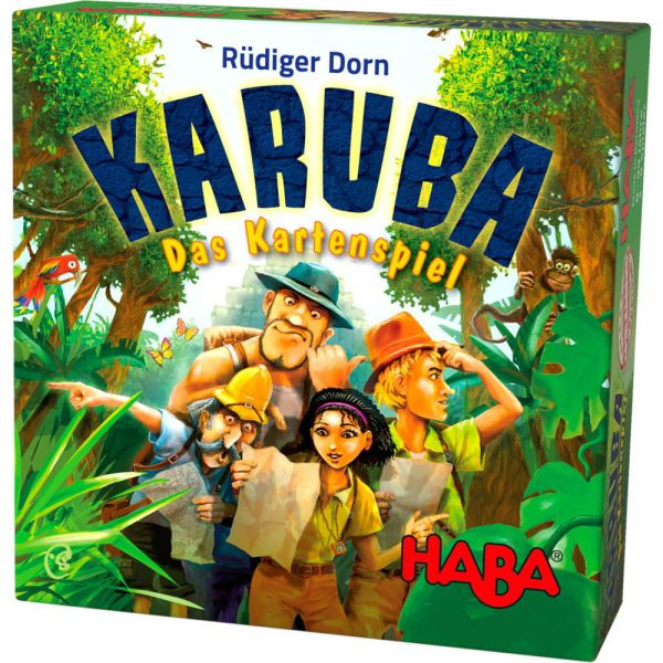 HABA 303474 - Mitbringspiel - Karuba - Das Kartenspiel