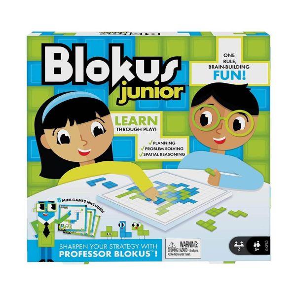 MATTEL GKF59 - Kinderspiel - Blokus Junior - Kinderspiel Lernspiel