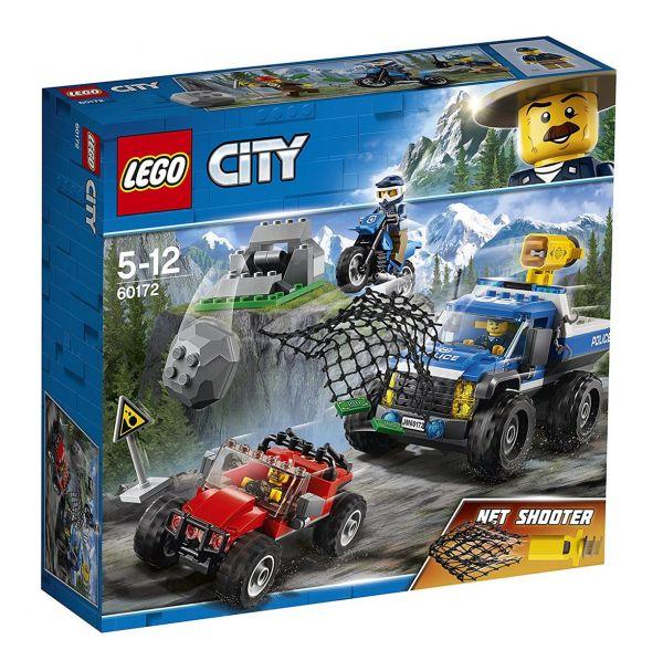 LEGO 60172 - City - Verfolgungsjagd auf Schotterpisten