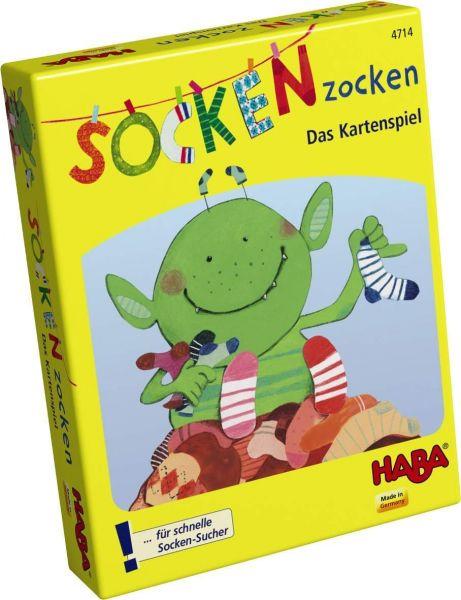 HABA 4714 - Mitbringspiel - Socken Zocken