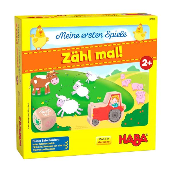 HABA 305878 - Meine ersten Spiele - Zähl mal!