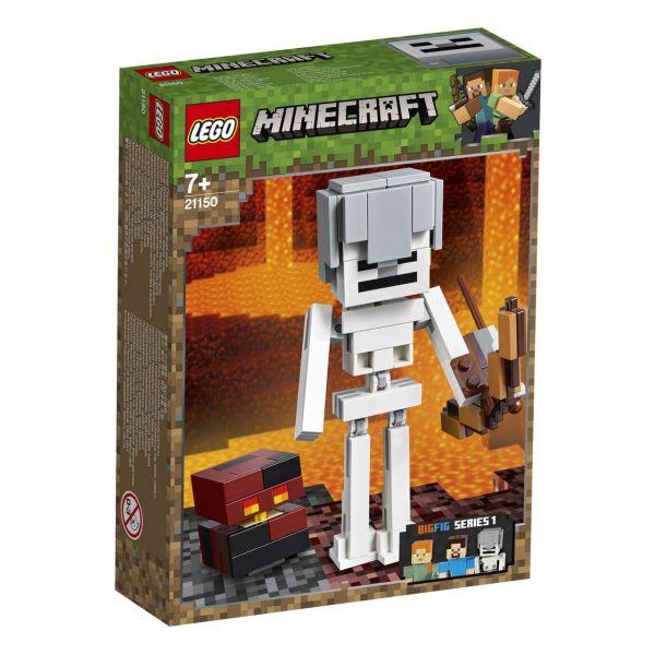 LEGO 21150 - Minecraft™ - BigFig Skelett mit Magmawürfel