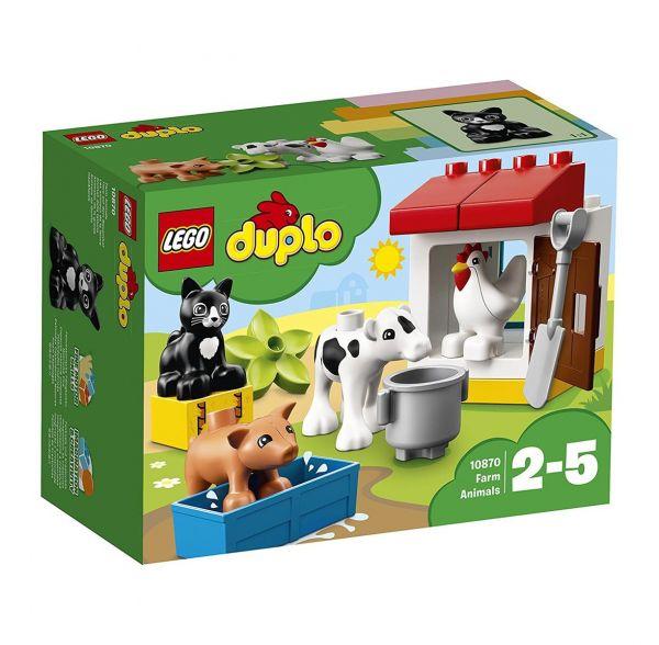 LEGO 10870 - Duplo - Tiere auf dem Bauernhof