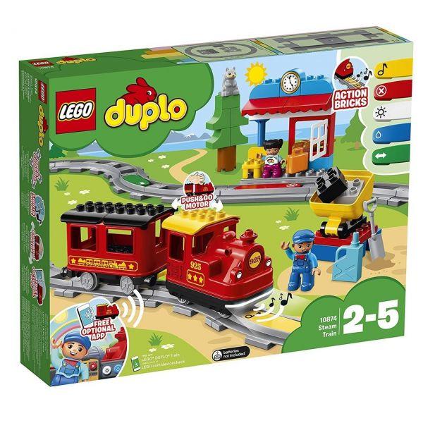 LEGO 10874 - Duplo - Dampfeisenbahn