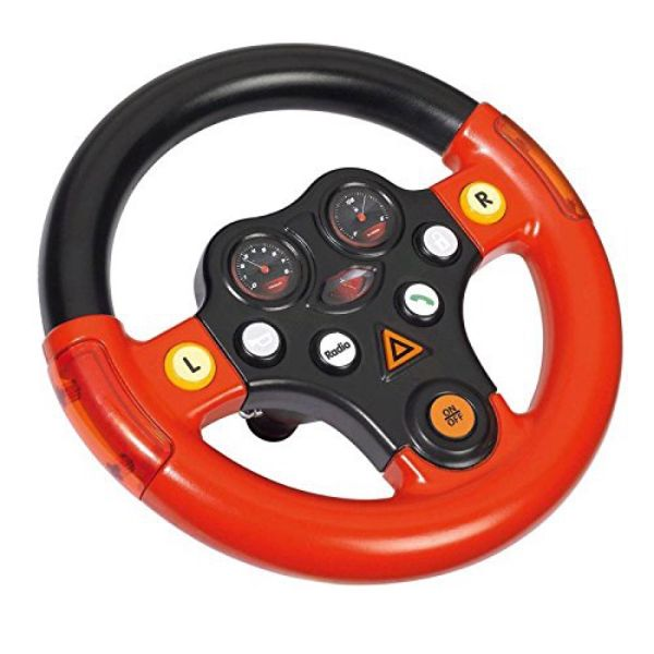 BIG 800056459 - Bobby Car Zubehör - Multi Sound Wheel Lenkrad
