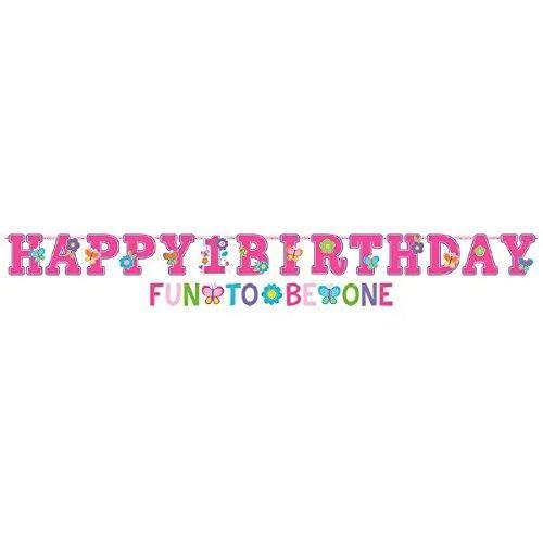 AMSCAN 120112 - Geburtstag & Party - Girlande, 1. Geburtstag, 1,8 m