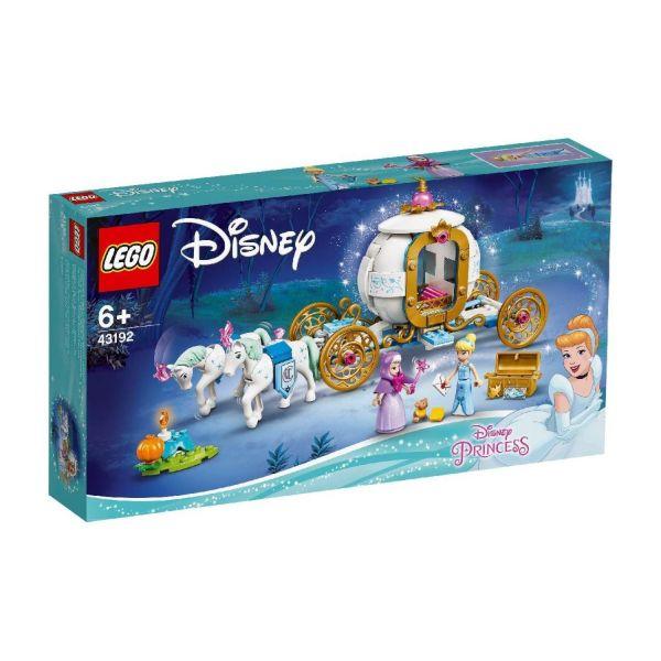 LEGO 43192 - Disney Princess - Cinderellas königliche Kutsche