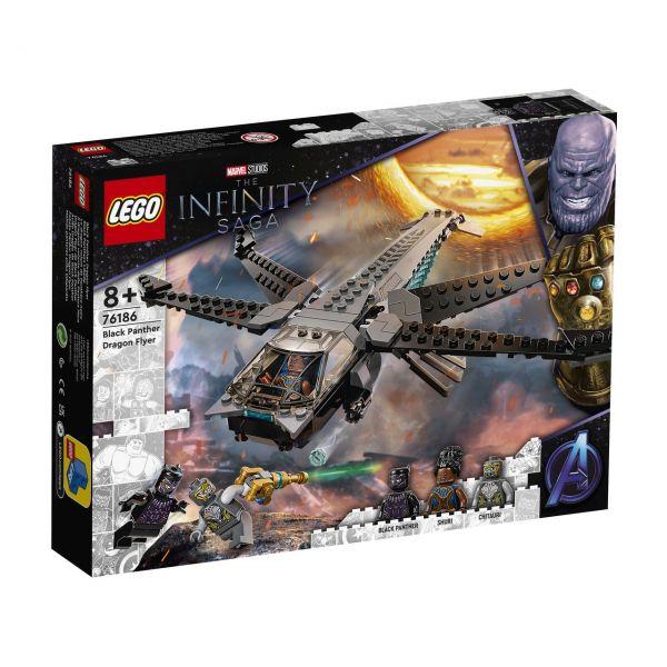 LEGO 76186 - Marvel Super Heroes™ - Black Panthers Libelle