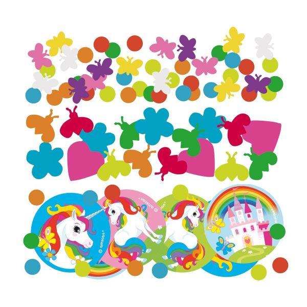 AMSCAN 9902113 - Geburtstag & Party - Deko-Konfetti Einhorn, 34 g