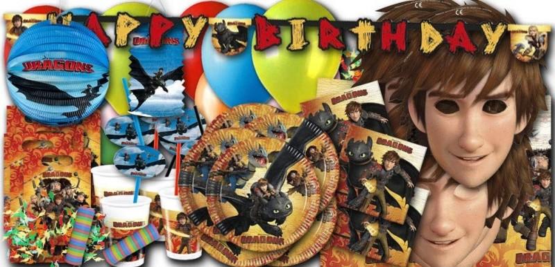 Partydeko Dragons bei Spielzeugwelten