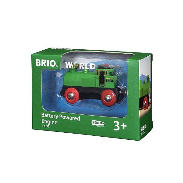 BRIO 33595 - Bahn - Speedy Green Batterielok