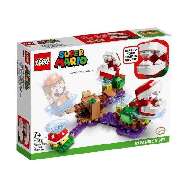 LEGO 71382 - Super Mario™ - Piranha-Pflanzen-Herausforderung - Erweiterungsset