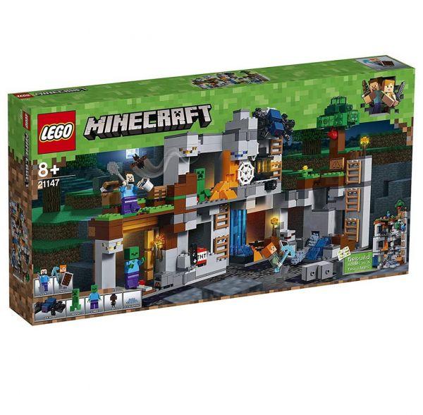 LEGO 21147 - Minecraft - Abenteuer in Den Felsen