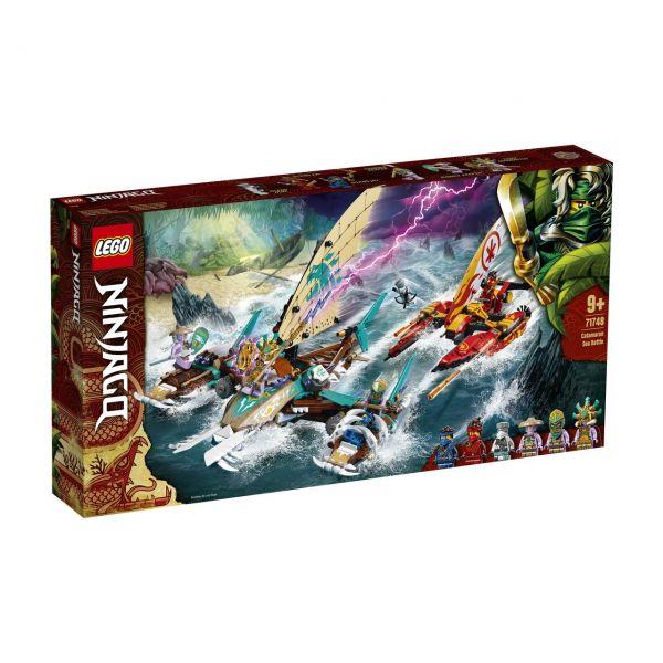 LEGO 71748 - NINJAGO - Duell der Katamarane