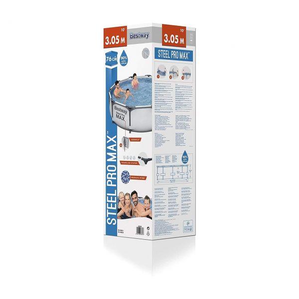 BESTWAY 56406 - Pool - Steel Pro MAX Frame Pool, 305x76cm
