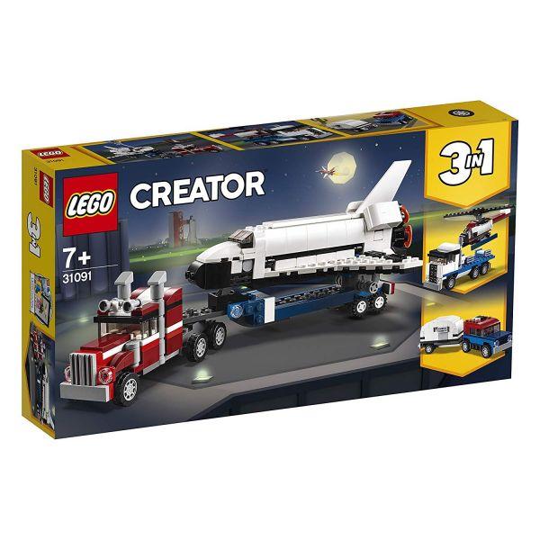 LEGO 31091 - Creator - Transporter für Space Shuttle