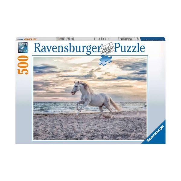 RAVENSBURGER 16586 - Puzzle - Pferd am Strand, 500 Teile