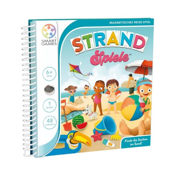 SMART GAMES 300 - Magnetische Reisespiele - Strand Spiele