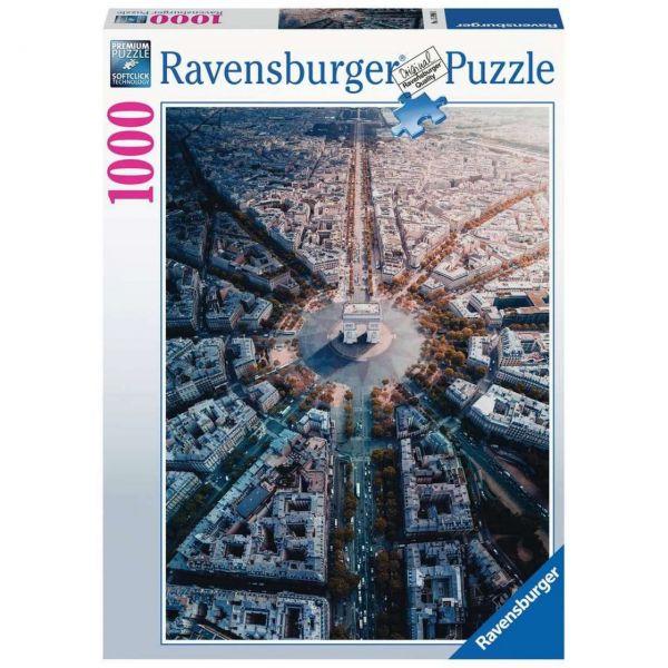 RAVENSBURGER 15990 - Puzzle - Paris von Oben, 1000 Teile