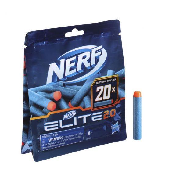 HASBRO F0040 - NERF Elite 2.0 - 20er Dart Nachfüllpackung