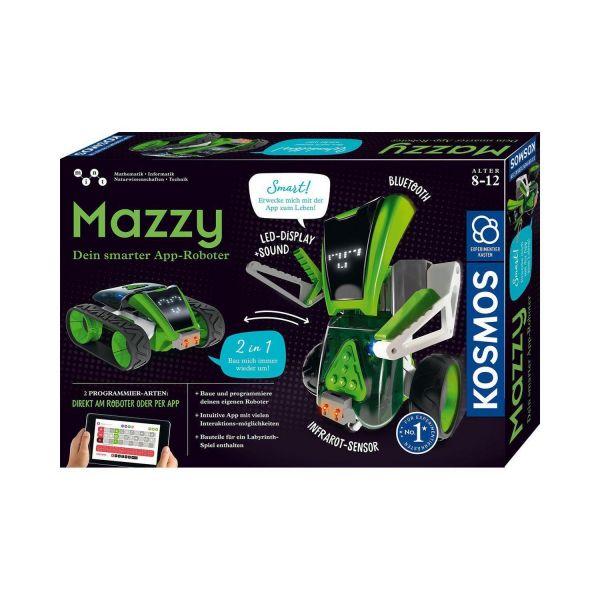 KOSMOS 620691 - Experimentierkasten - Mazzy, Dein smarter App-Roboter