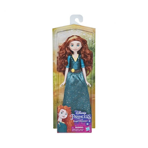 HASBRO F0903 - Disney Prinzessin - Schimmerglanz Merida