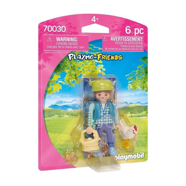 PLAYMOBIL 70030 - Playmo Friends - Bäuerin