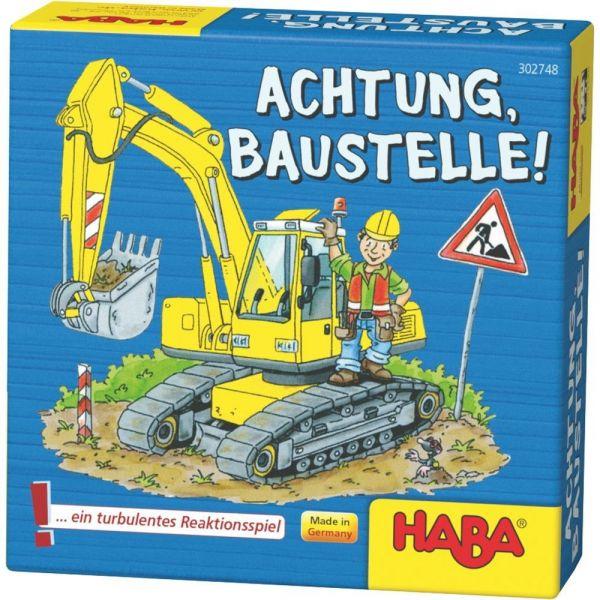 HABA 302748 - Mitbringspiel - Achtung, Baustelle!