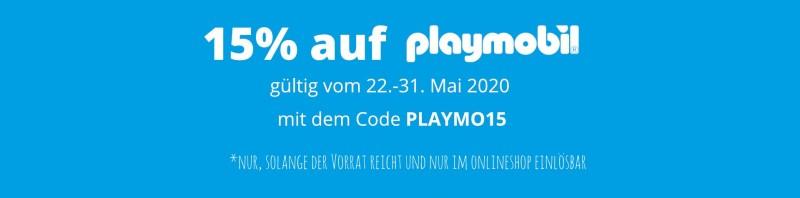 15% auf Playmobil vom 22.05. - 31.05.2020 bei Spielzeugwelten