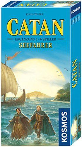 KOSMOS 694517 - Strategiespiel - Catan Seefahrer, Ergänzung für 5 - 6 Spieler