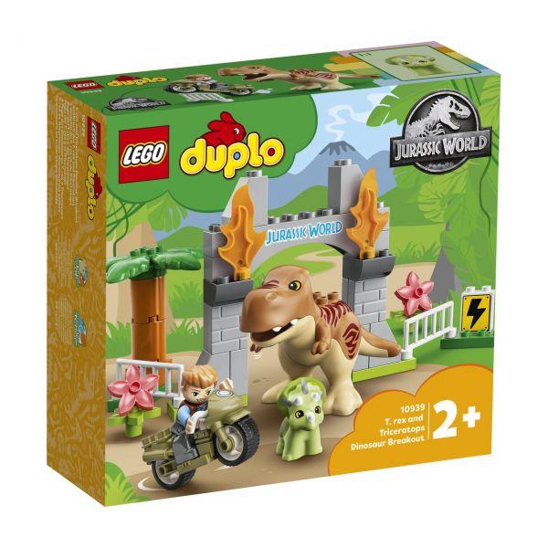 LEGO 10939 - DUPLO® - Ausbruch des T. rex und Triceratops