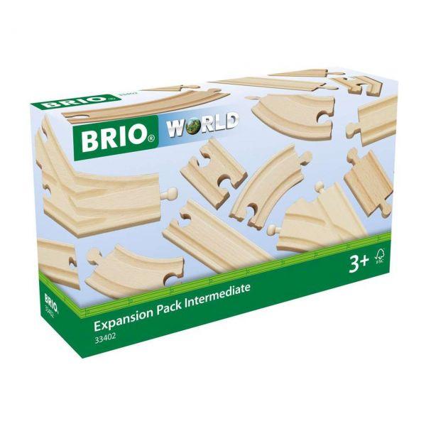BRIO 33402 - World - Mittleres Schienensortiment