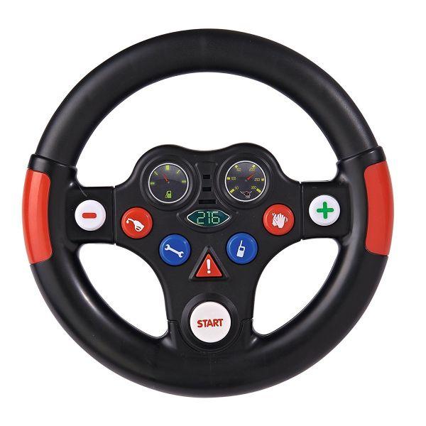 BIG 800056487 - Bobby Car Zubehör - Racing Sound Wheel Lenkrad