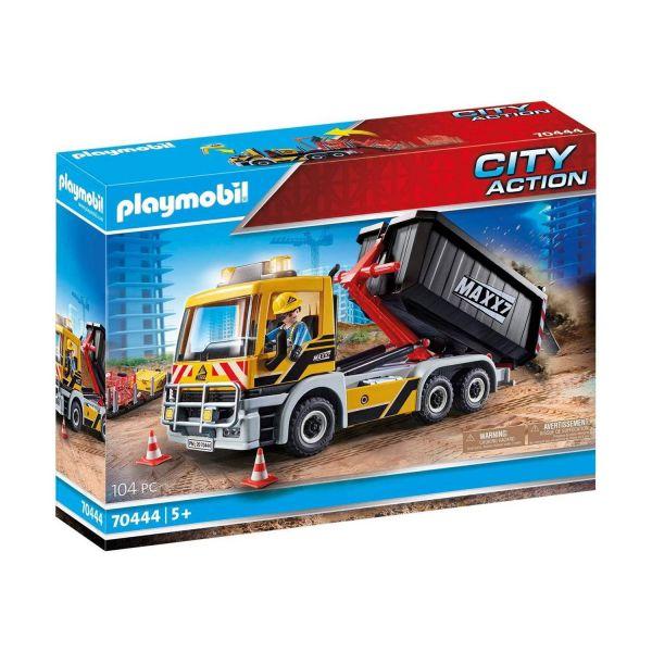 PLAYMOBIL 70444 - City Action - LKW mit Wechselaufbau