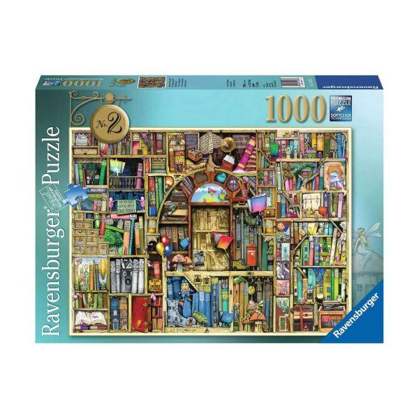 RAVENSBURGER 19418 - Puzzle - Magisches Bücherregal Nr.2, 1000 Teile