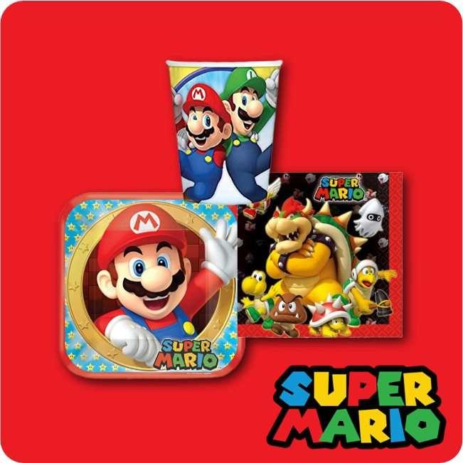 Kindergeburtstag Dekoration Super Mario bei Spielzeugwelten