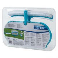 INTEX 29057 - Poolzubehör - Reinigungsset Kescher Bürste Bodensauger, 3tlg