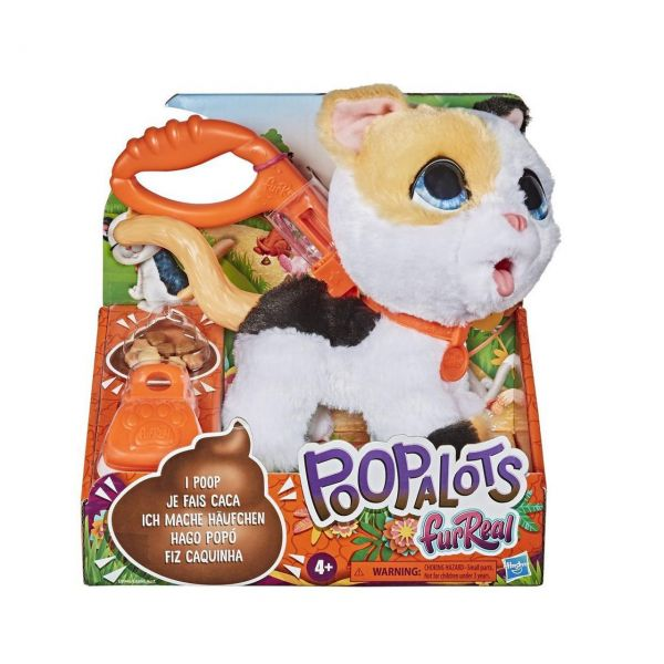 HASBRO E8946 - FurReal - Poopalots, Große Racker, Katze