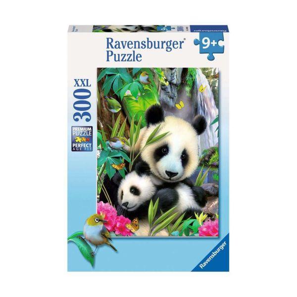 RAVENSBURGER 13065 - Puzzle - Lieber Panda, 300 Teile XXL